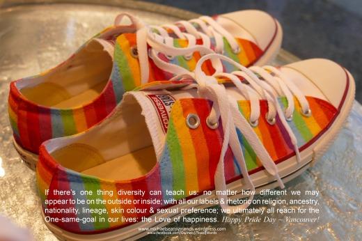 Happy Pride Day Vancouver, michael sean symonds2