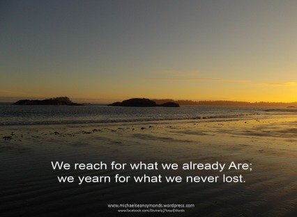 We Reach, michael sean symonds