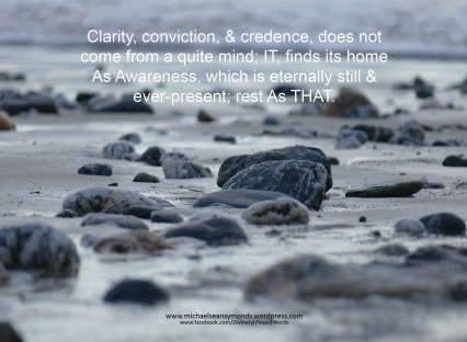 Clarity, Conviction & Credence, michael sean symonds