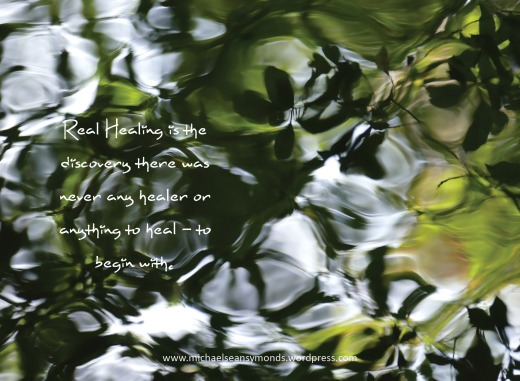 Real Healing. michael sean symonds.