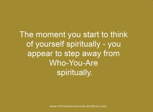 The Moment You Start To Think.michael sean symonds